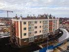 Ход строительства дома № 3 в ЖК Ватсон - фото 1, Апрель 2021