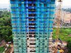 Ход строительства дома № 1 первый пусковой комплекс в ЖК Маяковский Парк - фото 15, Июль 2021