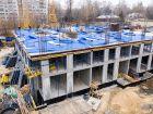 Ход строительства дома № 1 первый пусковой комплекс в ЖК Маяковский Парк - фото 76, Октябрь 2020