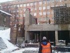 Ход строительства дома №1 в ЖК Премиум - фото 140, Январь 2017