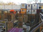 Ход строительства дома Литер 1 в ЖК Грин Парк - фото 9, Январь 2021