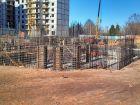 Ход строительства дома № 8 в ЖК На Победной - фото 29, Март 2014
