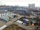 Ход строительства дома Литер 1 в ЖК Звезда Столицы - фото 143, Март 2018
