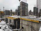 Ход строительства дома № 38 в ЖК Три Сквера (3 Сквера) - фото 40, Январь 2021