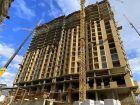 Ход строительства дома Литер 1 в ЖК Рубин - фото 1, Февраль 2021
