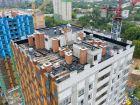 Ход строительства дома № 1 первый пусковой комплекс в ЖК Маяковский Парк - фото 11, Август 2021