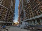 Ход строительства дома Литер 1 в ЖК Первый - фото 93, Август 2018
