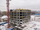 Ход строительства дома № 1 первый пусковой комплекс в ЖК Маяковский Парк - фото 59, Декабрь 2020