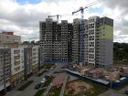 Ход строительства дома № 3 (по генплану) в ЖК На Вятской - фото 22, Сентябрь 2017
