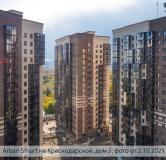Ход строительства дома № 3 в ЖК Арбан Smart на Краснодарской -