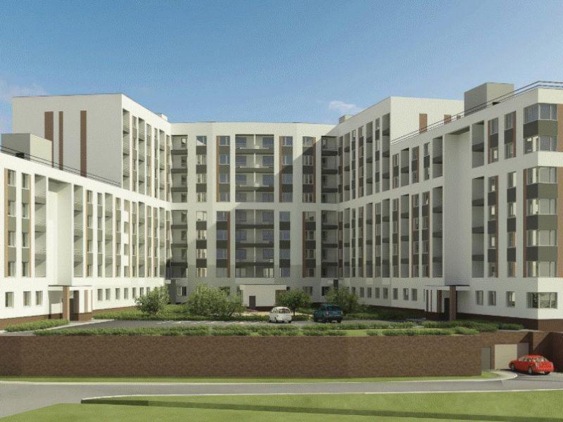 двухкомнатная квартира в новостройке на Казанском шоссе