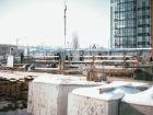 Ход строительства дома Секция 1 в ЖК Гвардейский 3.0 - фото 22, Февраль 2021