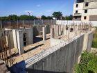 Ход строительства дома № 38 в ЖК Три Сквера (3 Сквера) - фото 55, Август 2020