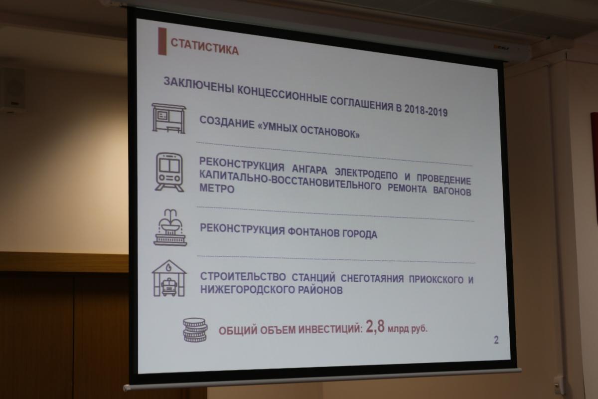 Нижегородские депутаты обсудили реализацию концессионных соглашений
