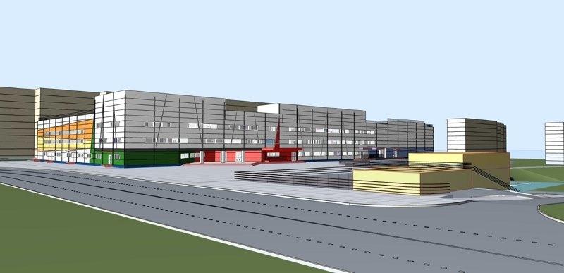 Многоуровневый гаражный комплекс напересечении улиц Г.Лопатина иВерхнепечерской - фото 1