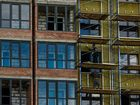 Ход строительства дома Литер 1 в ЖК Первый - фото 118, Апрель 2018