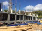 Ход строительства дома № 1, секция 1 в ЖК Заречье - фото 37, Сентябрь 2020